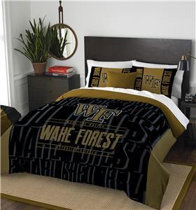 Northwest Wake Forest Full/Queen Comforter & Shams