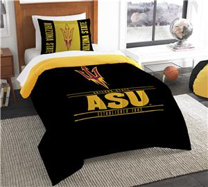 Northwest Arizona State Twin Comforter & Sham