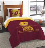 Northwest Central Michigan Twin Comforter & Sham
