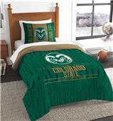 Northwest Colorado State Twin Comforter & Sham