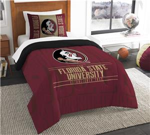 Northwest Florida State Twin Comforter & Sham