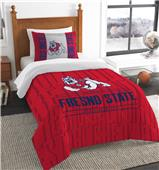 Northwest Fresno State Twin Comforter & Sham
