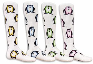 Red Lion Penguins Athletic Socks - 4 Colors