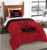 Northwest Miami of Ohio Twin Comforter & Sham