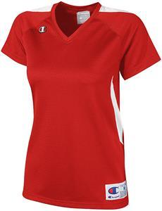 Champion Women Girls Strike Softball Jersey