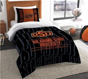 Northwest Oklahoma State Twin Comforter & Sham