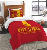 Northwest Pittsburgh State Twin Comforter & Sham