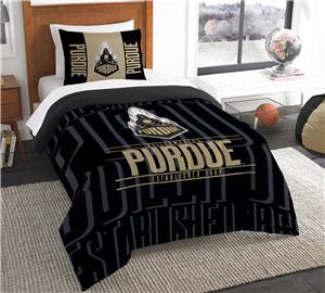 Northwest Purdue Twin Comforter & Sham