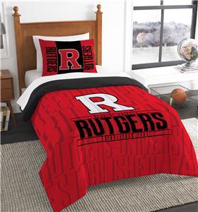 Northwest Rutgers Twin Comforter & Sham