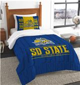 Northwest South Dakota State Twin Comforter & Sham