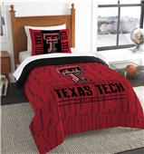 Northwest Texas Tech Twin Comforter & Sham