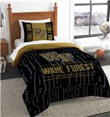 Northwest Wake Forest Twin Comforter & Sham