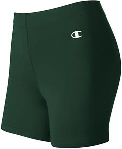 """Champion Womens Double Dry 5"""" Compression Shorts"""