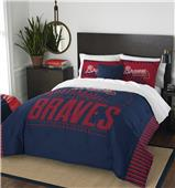 Northwest MLB Braves Full/Queen Comforter & Shams