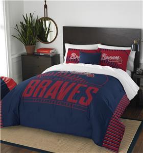 Northwest MLB Braves Full/Queen Comforter & Shams