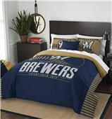 Northwest MLB Brewers Full/Queen Comforter & Shams