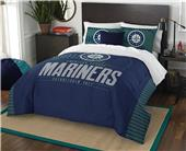 Northwest MLB Mariners Full/Queen Comforter/Shams