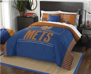 Northwest MLB Mets Full/Queen Comforter & Shams