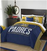 Northwest MLB Padres Full/Queen Comforter & Shams