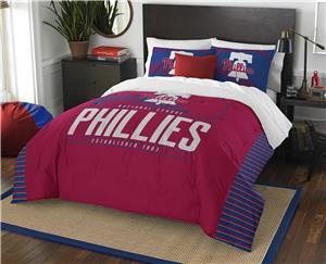 Northwest MLB Phillies Full/Queen Comforter/Shams