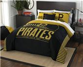 Northwest MLB Pirates Full/Queen Comforter & Shams