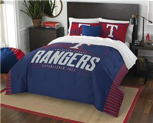 Northwest MLB Rangers Full/Queen Comforter & Shams
