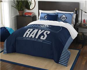 Northwest MLB Rays Full/Queen Comforter & Shams