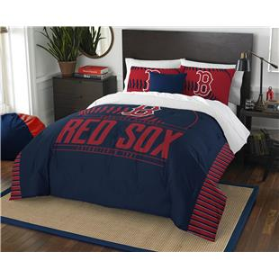 Northwest MLB Red Sox Full/Queen Comforter & Shams