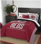 Northwest MLB Reds Full/Queen Comforter & Shams