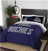 Northwest MLB Rockies Full/Queen Comforter & Shams