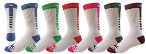 Red Lion Outer Space Crew Socks - Closeout