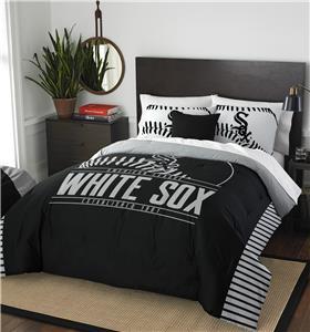Northwest MLB White Sox Full/Queen Comforter/Shams