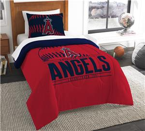 Northwest MLB Angels Twin Comforter & Sham