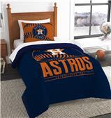 Northwest MLB Astros Twin Comforter & Sham