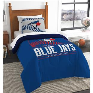 Northwest MLB Blue Jays Twin Comforter & Sham