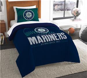 Northwest MLB Mariners Twin Comforter & Sham