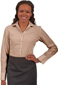 Edwards Womens Batiste Long Sleeve Blouse