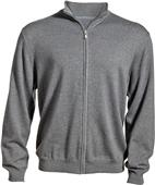 Edwards Mens Full-Zip Sweater