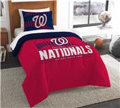 Northwest MLB Nationals Twin Comforter & Sham