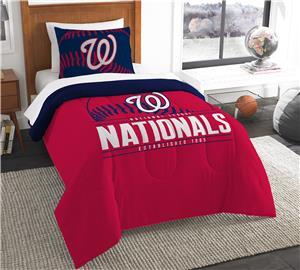 Northwest MLB Nationals Twin Comforter & Sham