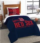 Northwest MLB Red Sox Twin Comforter & Sham