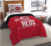 Northwest MLB Reds Twin Comforter & Sham