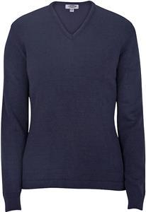 Edwards Womens V-Neck Sweater