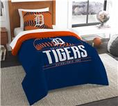 Northwest MLB Tigers Twin Comforter & Sham