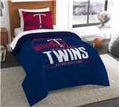 Northwest MLB Twins Twin Comforter & Sham