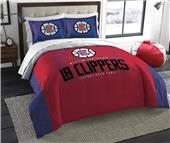 Northwest NBA Clippers Full/Queen Comforter/Shams