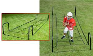 Hadar Adjustable Agility Ladder With Ropes