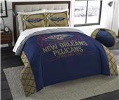 Northwest NBA Pelican Full/Queen Comforter & Shams