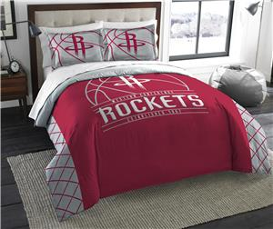 Northwest NBA Rockets Full/Queen Comforter & Shams