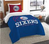 Northwest NBA 76ers Twin Comforter & Sham